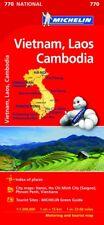 VIETNAM LAOS CAMBODIA MAP - MICHELIN 770 - NEW - CURRENT EDITION