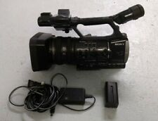 Sony HDR-AX2000 AVCDV Camcorder Exmor HD Video Camera w/ batteries, AC cable