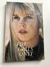1971 FOR GIRLS ONLY Scholastic Book Services SBS Paperback T 91