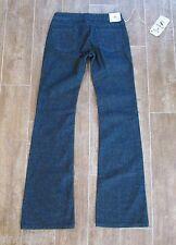 26 Aoki Stretch Womens Jeans dark denim J brand mid rise size 2 / 4 $185