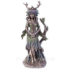 Lady of the Forest 25cm High Bronzed Effect Pagan Flidais Figure by Nemesis Now