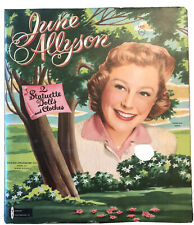 New ListingVtg. June Allyson Paper Dolls New Old Stock Uncut Watkins Strathmore Co. #1820.