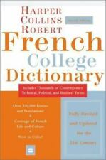 French COLLEGE Dictionary Harper Collins Rogers 4th Ed + In depth French Cluture