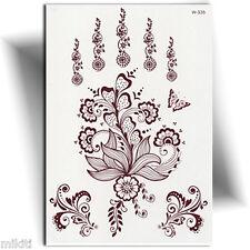 ►TATOUAGE TEMPORAIRE ORIENTAL HENNÉ (mehndi, tattoo éphémère main,décalcomanie)◄