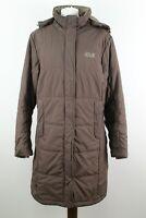 JACK WOLFSKIN Storm Lock Active Brown Coat Size UK 12/14