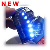 Solar Powered 6-LED Warning Flashing Light Car Auto Sensitive Burglar Alarm Lamp