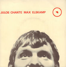 "JULOS BEAUCARNE – Julos Chante Max Elskamp (1967 VINYL EP 7"" BELGIUM)"