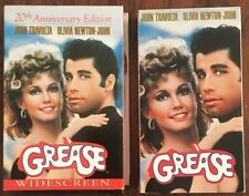 Grease 20th Anniversary Vhs Movie Lot Of 2 Collector Items