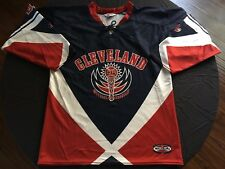 Michael Brantley Hockey Style Jersey M Medium Speedline Cleveland Indians MLB