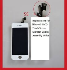 Replacement For iPhone 5S  LCD Touch Screen Digitizer Display Assembly White