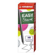 Stabilo EASY ERGO Pencil Lead Refills (Pk of 6) for EASYergo HB 3.15mm