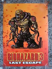 Resident Evil Biohazard 3 Last Escape Nemesis Type 2 Bande Dessinée Style Poster NEUF
