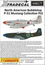 NEW 1:48 Xtradecal X48177 North-American P-51D Mustang Bubbletop International