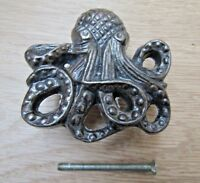 CAST IRON NOVELTY CUPBOARD CABINET CHEST DRAWER DOOR KNOB PULL HANDLE