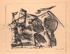 LES TERRILS/I MUCCHI DI DETRITI, 1948 (Tav. 5) - Guillaume Corneille - BP