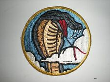 USAF 39TH FIGHTER SQUADRON HERITAGE PATCH