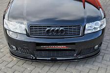 Cup Spoilerlippe SCHWARZ Audi A4 Typ B6 S-Line S4 Spoilerschwert Frontspoiler