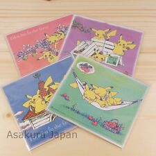 Pokemon Center Original Pikachu in the farm Art 4 pcs set Not sold in store item