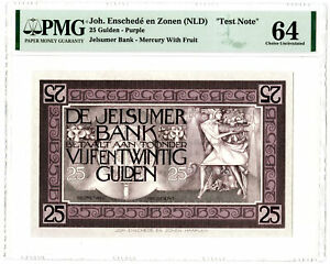 De Jelsumer Bank, ND (ca.1910-30) Essay Banknote Design Used as an Advertising S