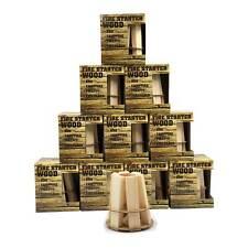 Parrilla remanentes-y kaminanzünder abrochada pirámide 10er Pack a partir de 1. -