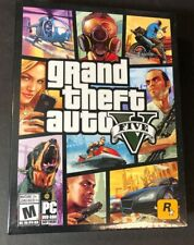 Grand Theft Auto V [ GTA V / GTA 5 / GTA Online ] (PC / DVD-ROM) NEW