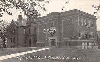 C92/ Good Thunder Minnesota Mn Real Photo RPPC Postcard c1920s High School