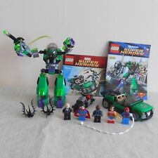 Lego Super Heroes 76004 & 6862 Superman & Spider-man sets With 5 Minifigures