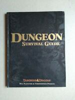 Dungeon Survival Guide  D&D Dungeons & Dragons