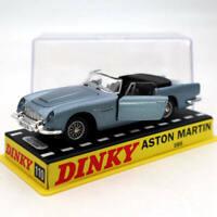Atlas 1/43 Dinky toys 110 Aston Martin Blue Diecast Models car Collection