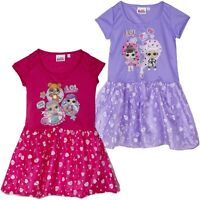 L.O.L. Surprise! lol Girls Dress Party Fancy Costume Tunic with Tulle 3-6 Years