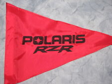 Custom POLARIS RZR triangle Safety Flag 4 ATV UTV JEEP Dirtbike Dune Whip Pole