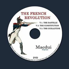 The French Revolution – 3 Vintage e-Books Collection on 1 DATA DVD France