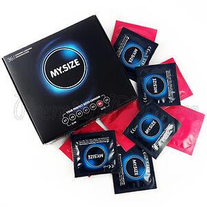 36 x My Size 64 mm condoms * XL XXL King Magnum Size * Wider fit * Retail box
