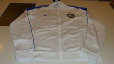 Team Inter Milan 2014 Soccer Track N98 Top Jacket Full Zip Soccer XL White