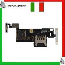 LG P970 Optimus black FLAT Flex lettore SIM + Micro SD Memory card