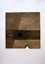 HERBERT BESSEL - Farbvariante (1985). Handsignierte Farbradierung.