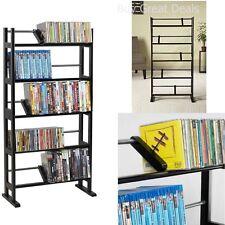 150 DVD BluRay CD Games Music Movies Multimedia Tower Rack Storage Organizer NEW