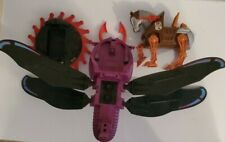 Vintage Motu He MAN Stridor Roton and Fright Fighter 3 Lot Incomplete For Parts