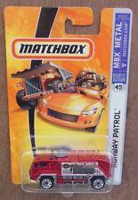 MATCHBOX CARS RUNWAY PATROL 2006 issue