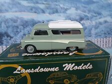 1/43 Brooklin models  LANSDOWNE 1960 BEDFORD DORMOBILE ROMANY LDM33 white metal