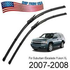 For Chevrolet Suburban 1500 2007-2008 2Pcs/Set Front Windshield Wiper Blades