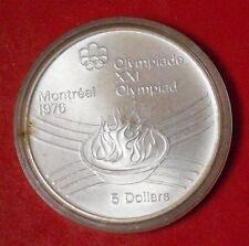 Moneta da 5 dollari XXI Olimpiadi Montreal 1976