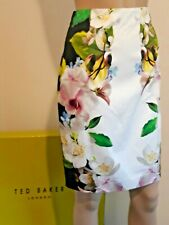 TED BAKER ZILOH BLUE FLORAL,BIRDS,BUTTERFLY MAXI DRESS RRP £229 UK 10 TED 2 US 6