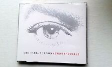 MICHAEL JACKSON : YOU ROCK MY WORLD CD SINGLE 4 MIXES