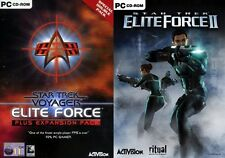 Star Trek Voyager Elite Force + Expansion Pack & Elite Force 2