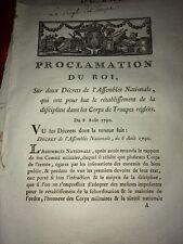 MILITARIA .DISCIPLINE DES TROUPES 1790
