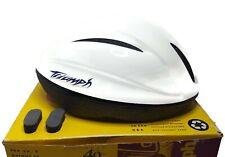 Vintage 1994 Bell Bike Bicycle Helmet Triumph Size M White 40th Anniversary USA
