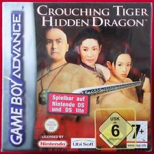Nintendo GameBoy Advance-GBA ► escogitando Tiger-Hidden Dragon ◄ NUOVO & OVP