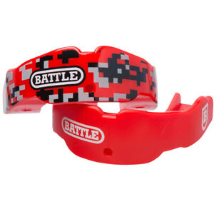 Battle Sports Science Youth Camo Mouthguard 2-Pack with Straps