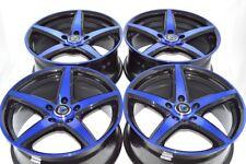 17 blue Wheels Rims Camry Fusion Accord Civic CRZ Element HRV Avenger tC 5x114.3